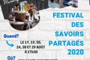 Est-ce qu'il y a un Festival des savoirs partagés?